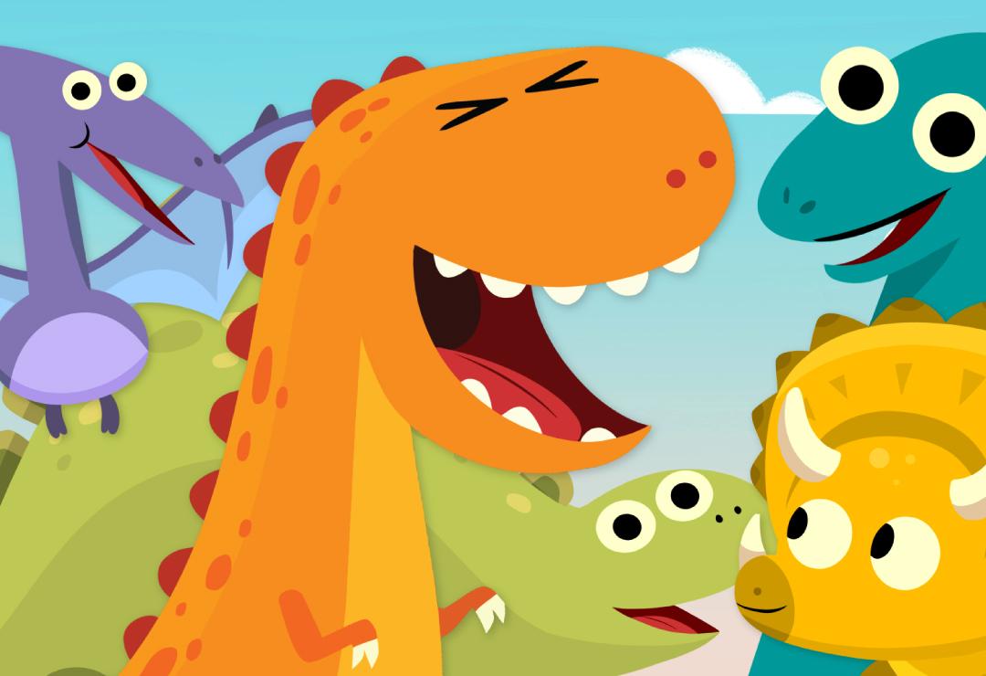 10 Little Dinosaurs Super Simple Songs