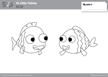 Coloring Pages Super Simple