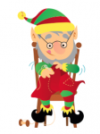 10 Little Elves are Sewing