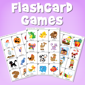 image about Printable Card Games referred to as Mastering Video games With Mini Flashcards - Tremendous Very simple