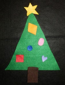 Decorate The Christmas Tree Super Simple