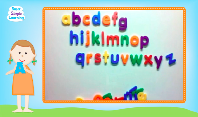 The Alphabet Song from Super Simple Learning