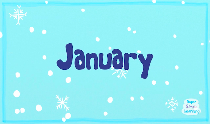 The Months Chant from Super Simple Learning
