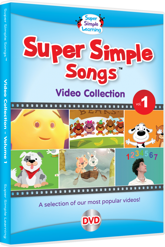 The first DVD from Super Simple Learning!
