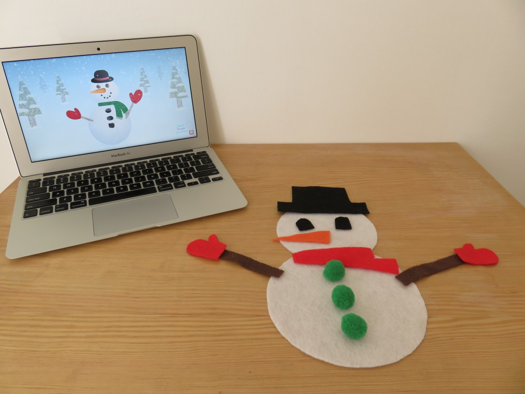 I'm A Little Snowman video and activity