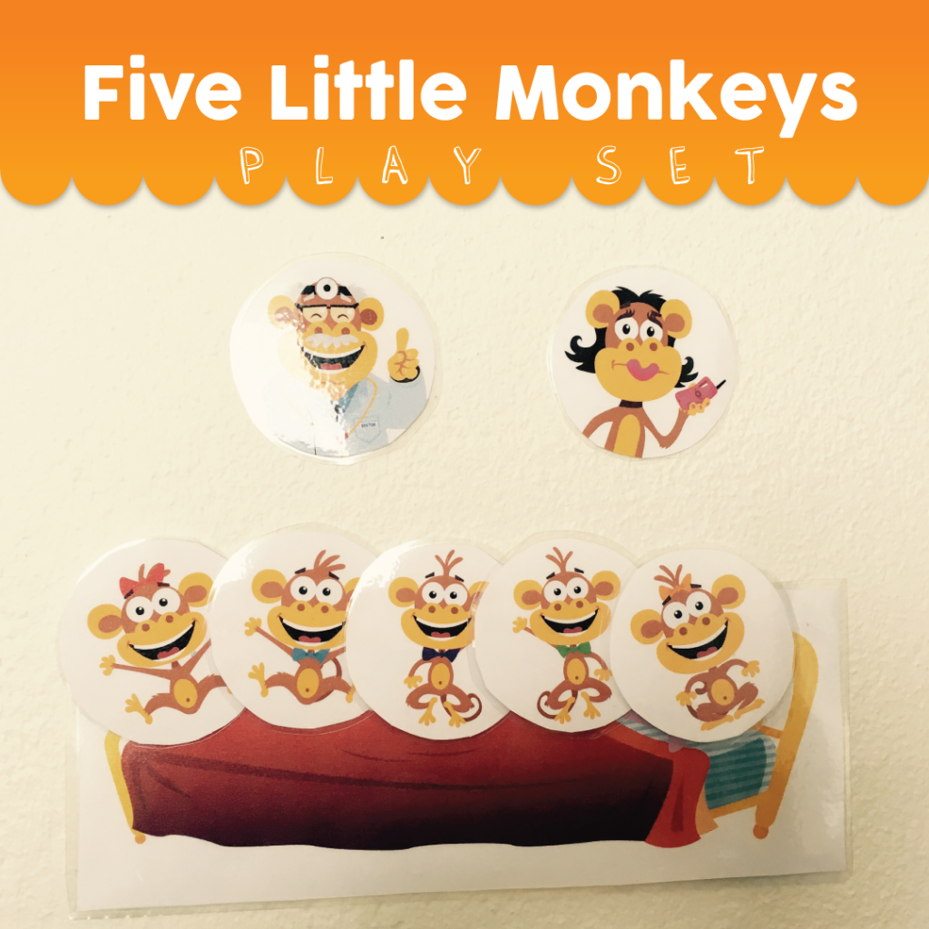 Five Little Monkeys – Play Set Activities | Super Simple