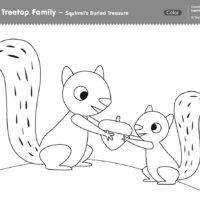 Squirrel's Buried Treasure
