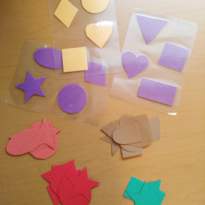 Shapes cut outs