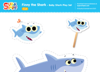 Baby Shark Play Set
