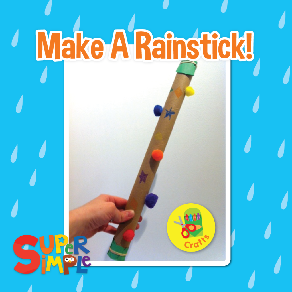Make a rainstick craft super simple for Easy rain stick craft
