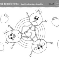 The Bumble Nums Color - Sparkling Strawberry Smoothies