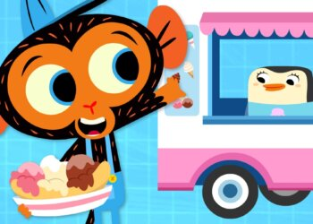 Mrs. Penguin's Ice Cream is Too Hot!