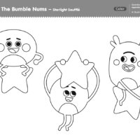 The Bumble Nums Color - Starlight Souffle