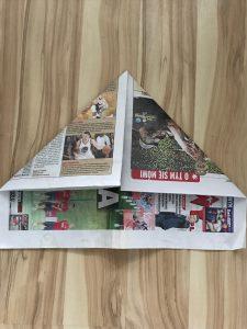 Step 4 - Newspaper Hat