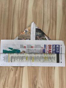 Step 5 - Newspaper Hat
