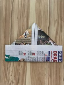 Step 8 - Newspaper Hat