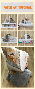 Paper hat tutorial