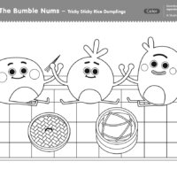 The Bumble Nums - Tricky Sticky Rice Dumplings