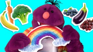 Who Can Eat a Rainbow? This Guy, See How.