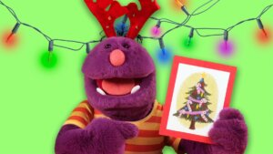 Learn About Giving with Milo the Monster | Merry Christmas!