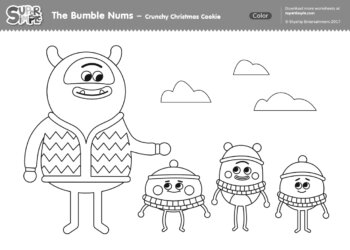 The Bumble Nums - Crunchy Christmas Cookie