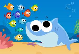 10 Little Fishies