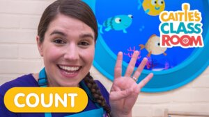 Practice Counting with Caitie - Featuring 10 Little Fishies