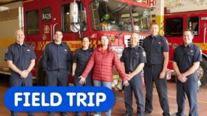 Let's Visit The Fire Station