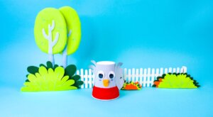 Little Robin Redbreast Craft