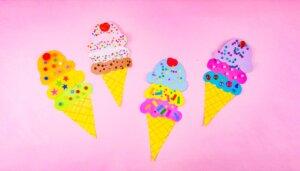 Let's Decorate: Ice Cream Cones!