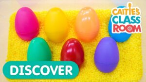 Learn Colors With Surprise Eggs