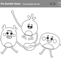 The Bumble Nums Color - Bouncing Bean Burrito