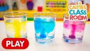 Playing With Colored Water