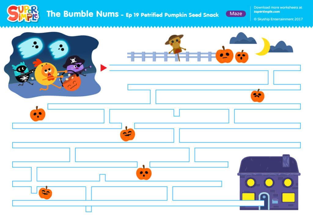 The Bumble Nums - Ep 19 - Maze