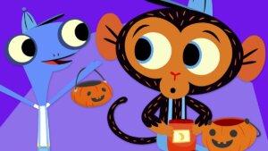 A Mr. Monkey Halloween