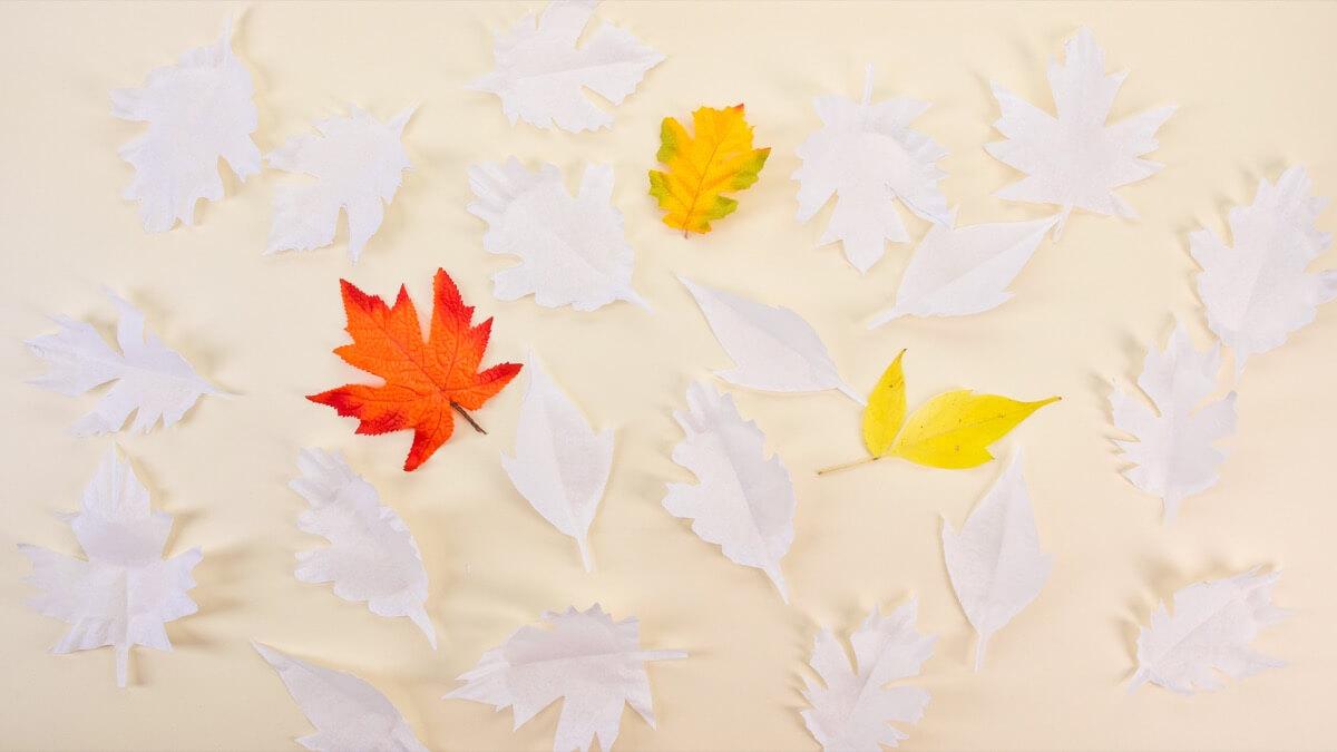 Autumn Leaves Mobile
