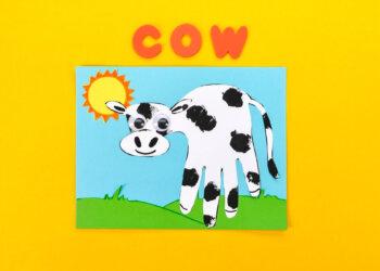Handprint Cows