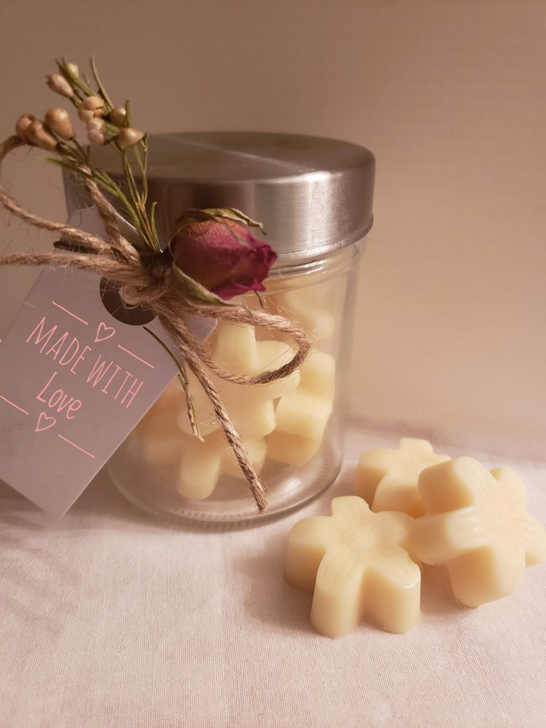 Home made lotion bars