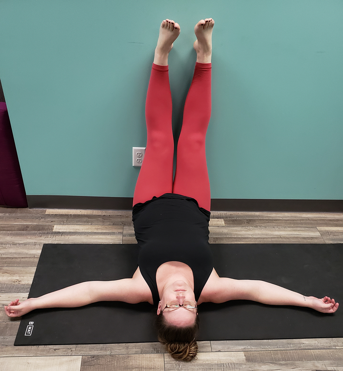 Prenatal Yoga Pose
