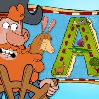 "Alphabet Adventure on ""A"" Island"