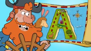 "Alphabet Adventure on ""A"" Island"