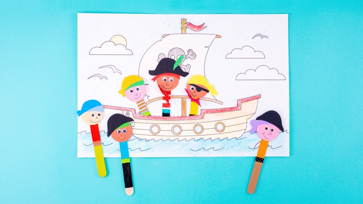 Popsicle Stick Pirates