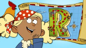"""A Race to Find Treasure on """"R"""" Island"""