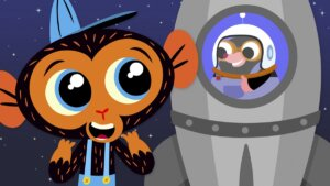 Miss Mole Blasts Off To The Moon