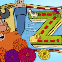 "A Zany Adventure on ""Z"" Island"