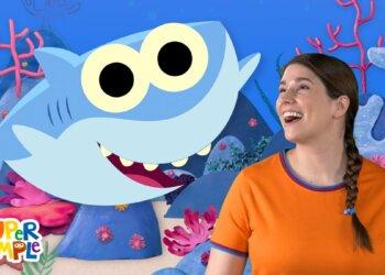 Baby Shark - Nursery Rhymes With Caitie