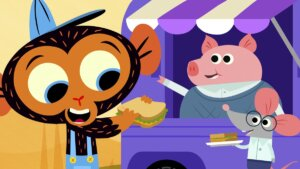 Mr. Pig & Mr. Mouse Catering Truck