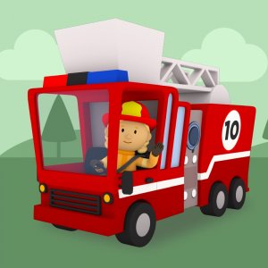 10 Little Fire Trucks (Carl's Car Wash)
