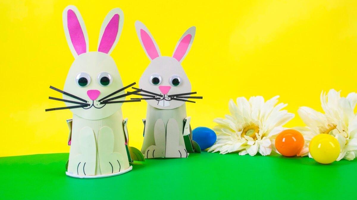 Hopping Bunny Craft
