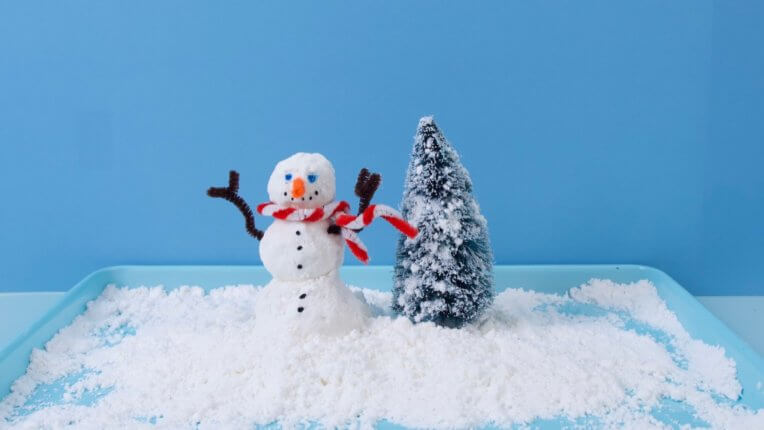 Make At Home Play Snow Activity